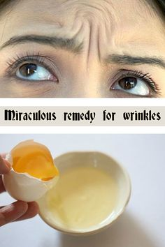 Read directions about a miraculous remedy for wrinkles.