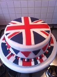 Afbeeldingsresultaat voor union jack cake