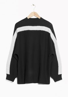 & Other Stories image 1 of Oversized Knit in Black