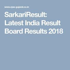SarkariResult: Latest India Result Board Results 2018