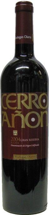 Cerron Anon Gran Reserva Rioja, Bodegas Olarra 2004
