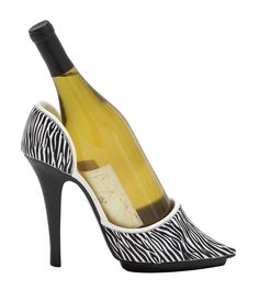 1 Bottle Tabletop Shoe Wine Holder
