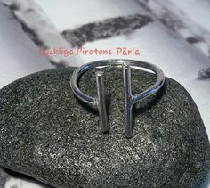Ring i 925 sterling silver från Lyckliga Piratens Pärla.