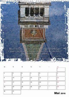 Kalender - Christliche Monatssprüche - Mai