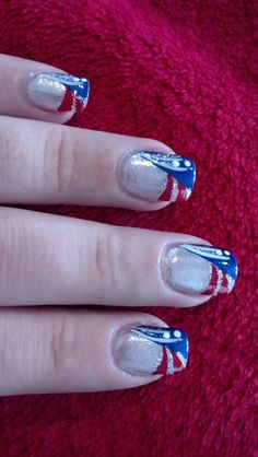 Another patriotic design, I love it! (and good with July 4th coming up)