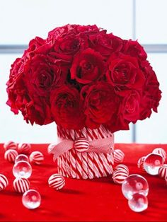 flower vases for centerpieces | Christmas Centerpieces ideas! | Grower Direct Fresh Cut Flowers ...