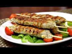 LOVE TO COOK: Murg Malai Seekh Kabab | Creamy Chicken Mince Kababs