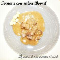 Ternera con salsa Bovril