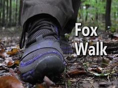 Fox Walk - How To Walk Silently Through The Woods - YouTube