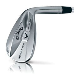 X Series JAWS CC Brushed Chrome Wedges (perfect for the player who wants to spin it)
