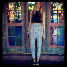Cameo top, Whitney Eve pants
