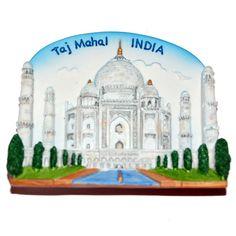 Resin Fridge Magnet: India. Agra. Taj Mahal