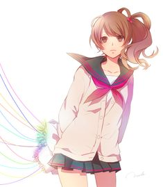 Julie from Brothers Conflict <3( I think that's her name)
