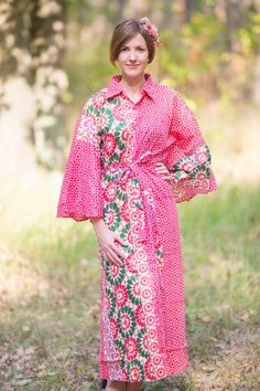 Oriental Delight Kaftan Style in Round and Round  pattern in