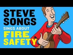 Steve Songs Fire-Safety Video for Kids and Fire Safety Lesson Plans