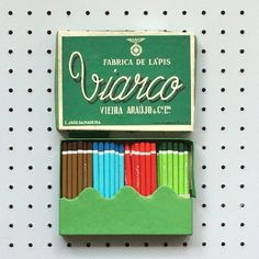 1950s mini pencils from Portugal.  http://instagram.com/p/pYwOUXGT7h/  pic.twitter.com/y86u85twog
