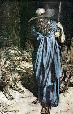 Mime y el caminante (Wotan)