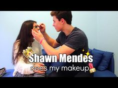 Shawn does my makeup + responding to Justin's shady comment? | 730.no << she is so lucky!