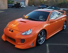 2000 Toyota Celica GTS this is more reality for me