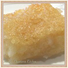 CASSAVA CAKE | Annie's Chamorro Kitchen
