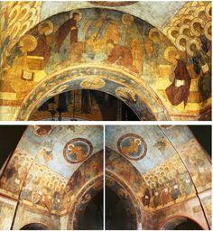Cattedrale della Dormizione di Vladimir.  Giudizio Universale 1408