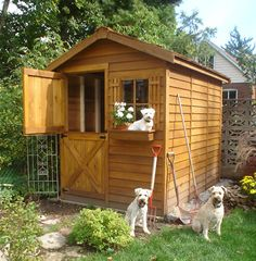 Find discount's on small gardening sheds at Cedarshed. These little garden shed kits make a great backyard storage shed and come in 7 wooden designs with plans. Storage Shed Kits, Backyard Storage Sheds, Backyard Sheds, Outdoor Storage, Backyard Landscaping, Storage Ideas, Shed Kits For Sale, Gable Wall, Garden Shed Kits