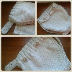copripannolino a maglia