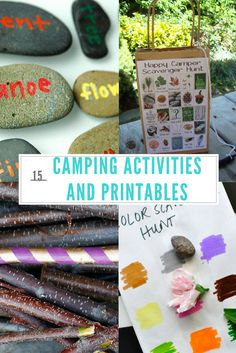 Check out our Top 15 Camping Activities and Printables to make your next camping trip tons of fun for the entire family! Great printables too! Camping Activities For Kids, Camping Games, Camping With Kids, Camping Equipment, Family Camping, Tent Camping, Outdoor Camping, Camping Ideas, Family Activities