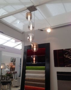 #GongMini cluster at the Capitol Carpets' stand at the Decorex International exhibition in London.