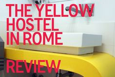 Review of the backpacker and gay-friendly Yellow Hostel in Rome. Located near Rome's main central railway, Roma Termini Station.