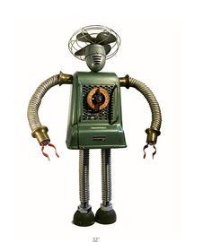 Les robots recyclés de Gordon Bennett robot 0080