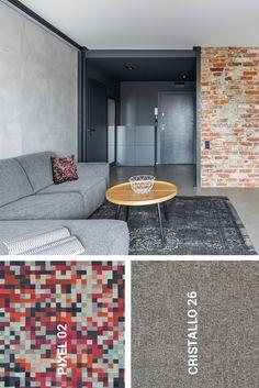 Odkryj tkaniny Italsenso -PIXEL oraz CRISTALLO. Contemporary, Rugs, Home Decor, Catalog, Farmhouse Rugs, Decoration Home, Room Decor, Home Interior Design, Rug