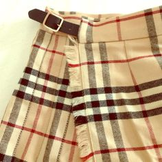 Burberry London wrap skirt In great condition, may need to be ironed. Burberry Skirts