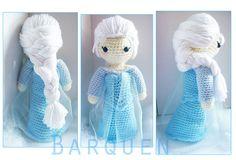 Crochet Doll Frozen Inspired Princess Elsa by AmigiCherie