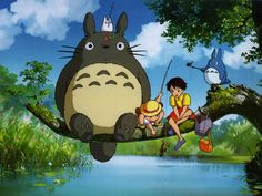 Totoro! (: My brother & I watched this so much when we were little!