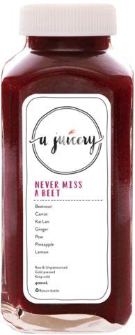 Juice Menu – A Juicery | Cold-Pressed Juice Singapore