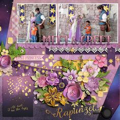 #believeinmagic: Tangled Up Collection by Amber Shaw & Studio Flergs http://www.sweetshoppedesigns.com/sw...752&page=1 Template from Oh Happy Days by Fiddle Dee Dee