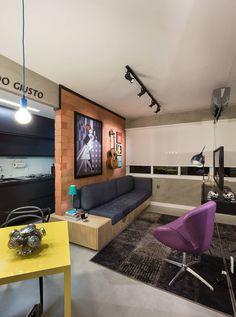 GC HOUSE : Salas de estar modernas por Arquitetando ideias