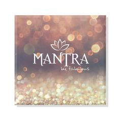 Mantra Believe Mantra Bar Necklace in Gold Fabulous Collections