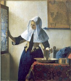 Woman with a Water Pitcher by Johannes Vermeer