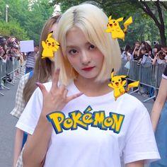 I Love Girls, Cute Girls, Cool Girl, My Girl, Kpop Girl Groups, Kpop Girls, Blonde Hair Looks, Doodle Icon, Cute Icons