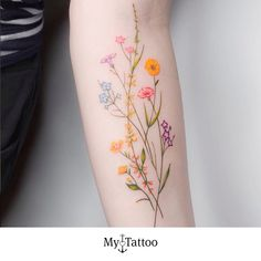 Over 80 stunning watercolor tattoo ideas for women tattoo & piercing . - Over 80 stunning watercolor tattoo ideas for women tattoo & piercing – flower tatt - Pretty Tattoos, Unique Tattoos, Beautiful Tattoos, Awesome Tattoos, Arm Tattoos Cute, Feminine Arm Tattoos, Best Tattoos, Colorful Tattoos, Mini Tattoos