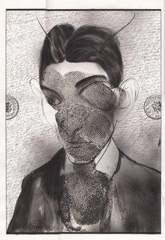 [Luis Scafati - Franz Kafka and The Metamorphosis illustrations]