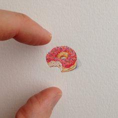 Micro ilustrações de Brooke Rothshank