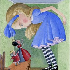 ALICE IN WONDERLAND BY TORY AND NORMAN TABER