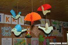 Papiervogel, Homeschool News, Jan und Bernice Zieba