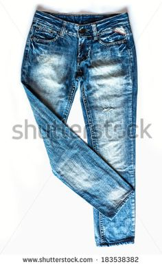 Jeans Isolated Stock Photos, Images, & Pictures | Shutterstock