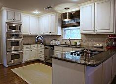 u shaped kitchens | shaped kitchen renovation | Home Designs Wallpapers