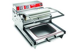 """SG400 termosigillatrice ermetica manuale serie """"SG"""" in acciaio inox (altezza max vaschetta 115mm, larghezza max bobina 420mm)"""