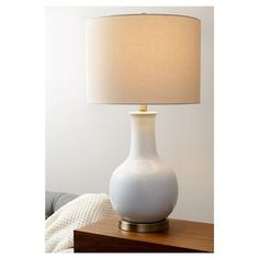 "Abbyson Living Maybury Ceramic Table Lamp - White. 32""h X 16""d $99"